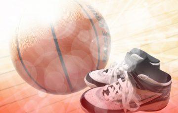 バスケのスーパープレイ
