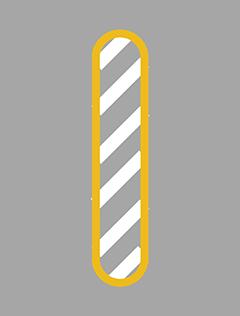 立入禁止部分の標示