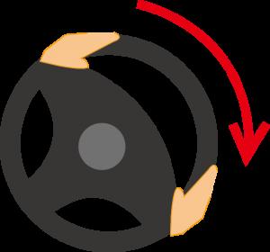 ハンドルの回し方2